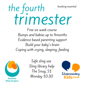 4th Trimester Cycle – slings and parenting support @ The Snug | England | United Kingdom
