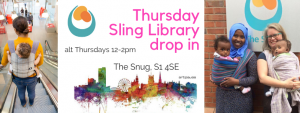 Thursday Sling Library at the Snug – afternoon drop in @ The Snug | England | United Kingdom