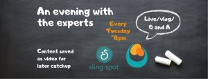 Tuesday Evening with the Experts Live